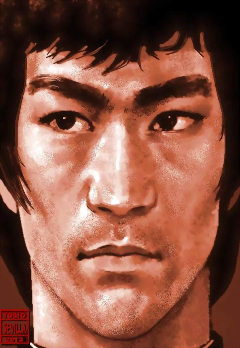 Bruce Lee by Tonio